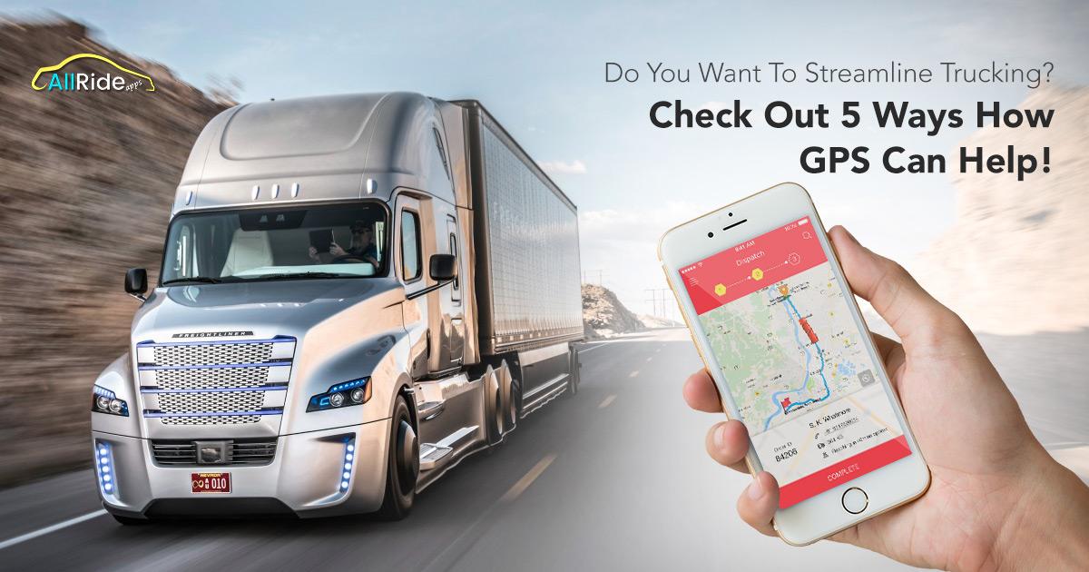 GPS truck app