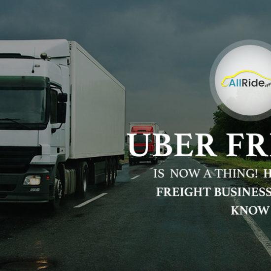 uber for trucking app banner