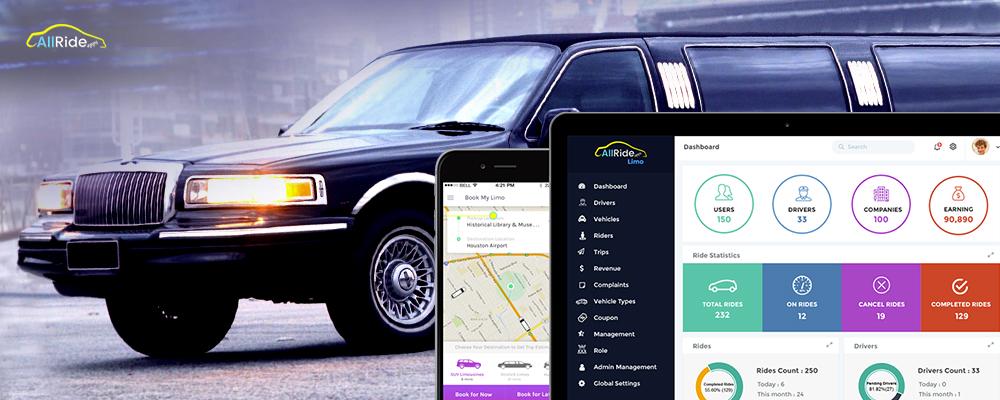 careem taxi app development for limo