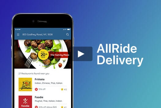 grocery delivery app video