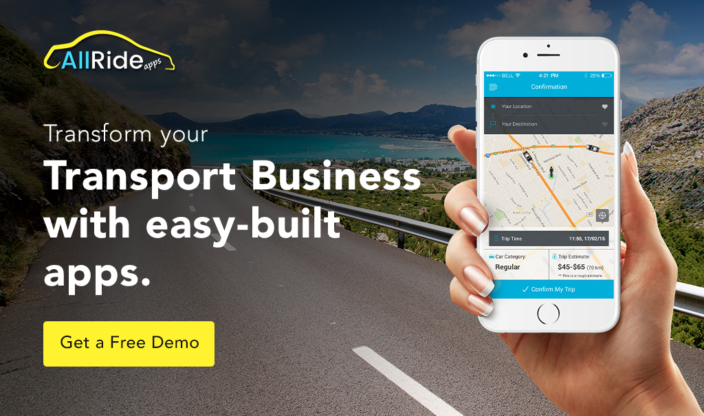 on demand transport app solution