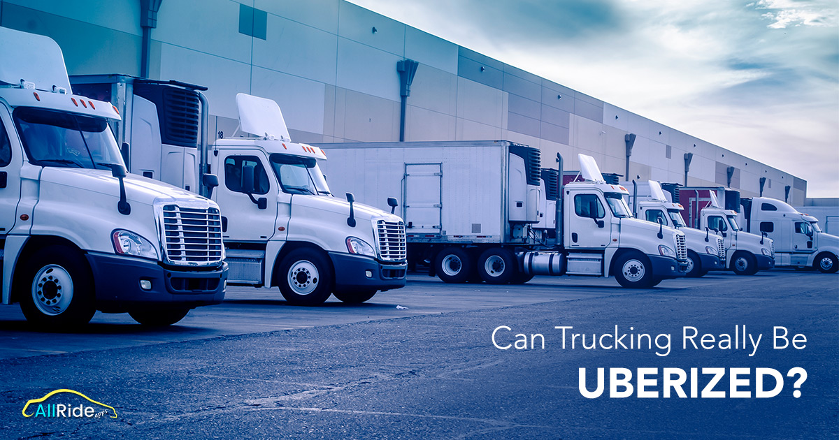 is Uber for trucking solution in vouge