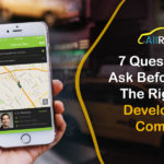 How to choose the right taxi app development company