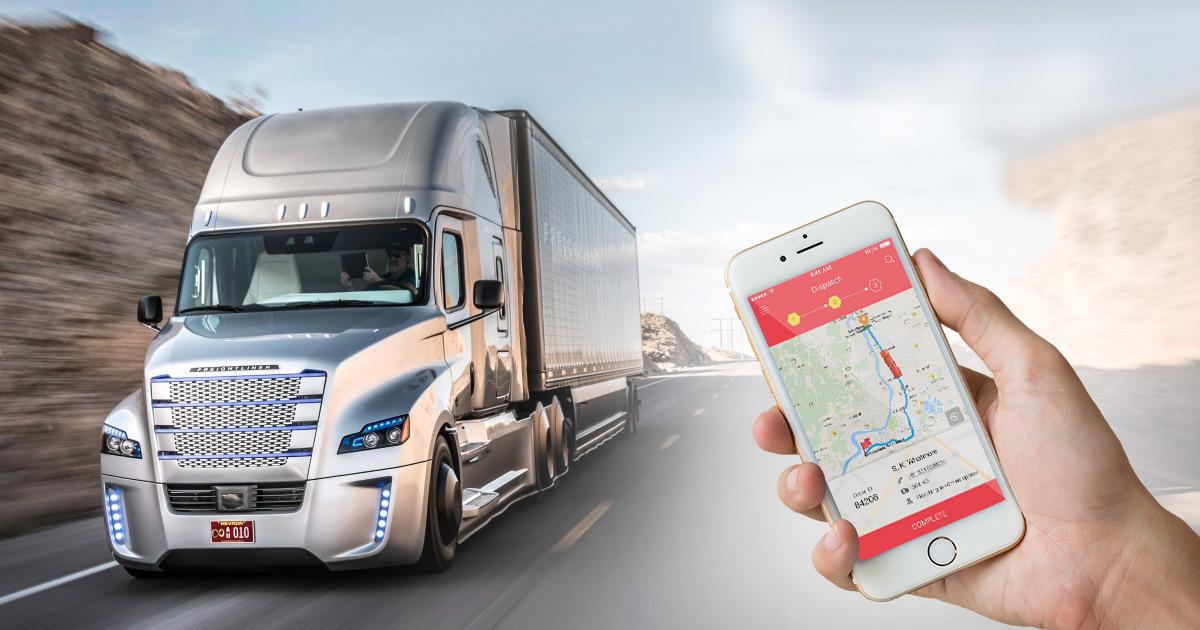 uber for trucking app model
