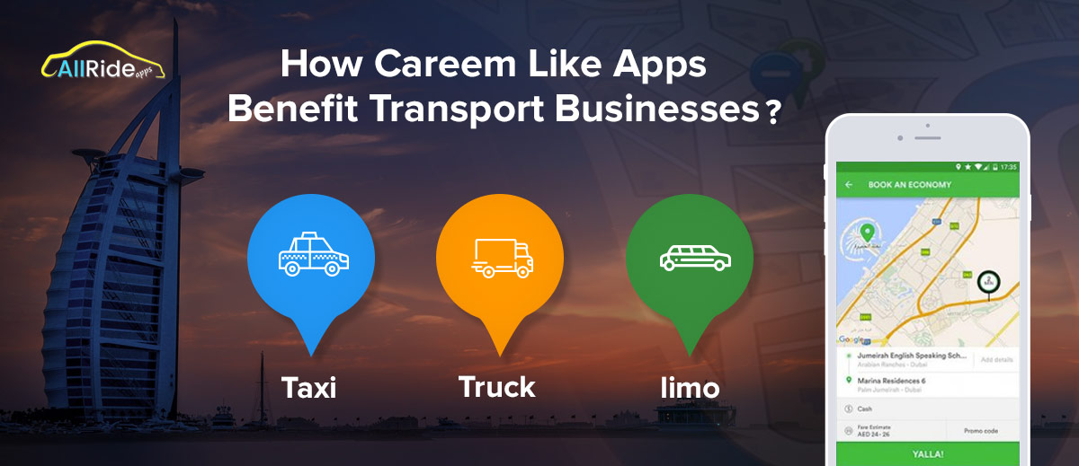 careem taxi app development