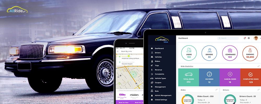 careem taxi app development for limo