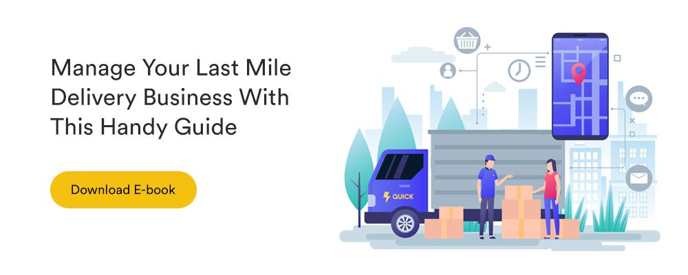 last mile delivery logistics solution