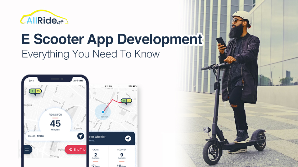 e scooter app development