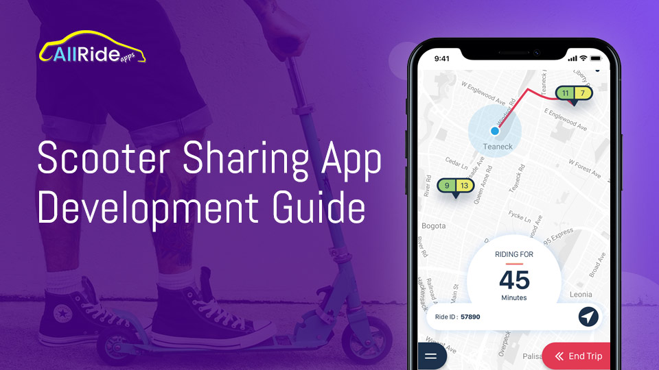 scooter sharing app development