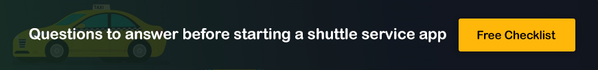 shuttle service app