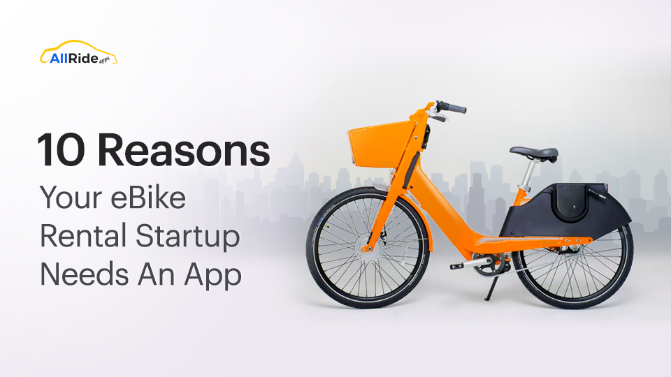 e bike rental app development