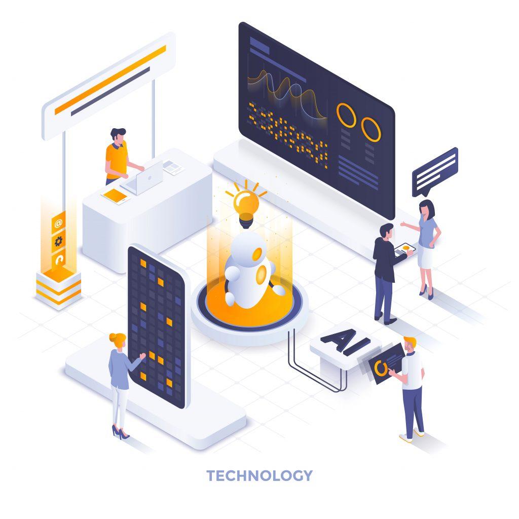 AI driven delivery software company