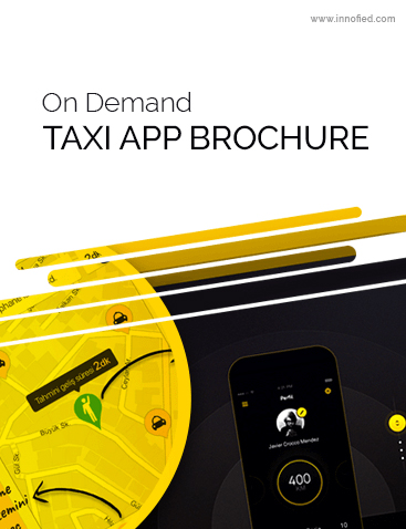 Taxi App Development Brochure