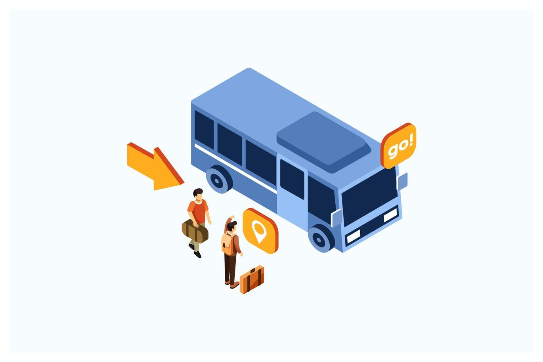 bus app development