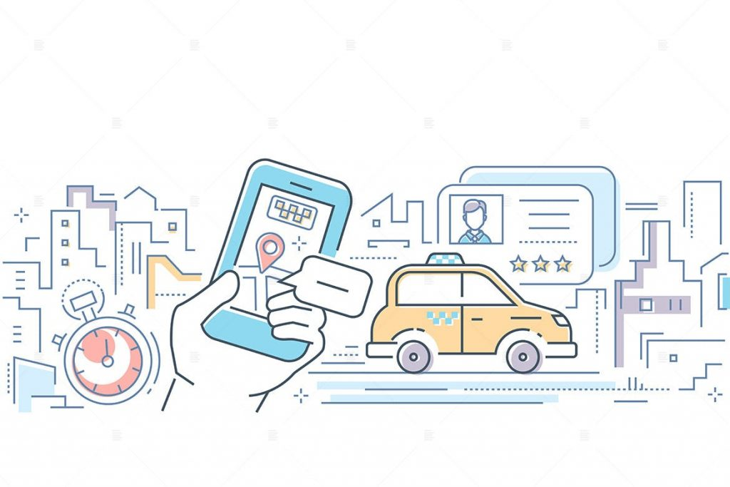 taxi app features