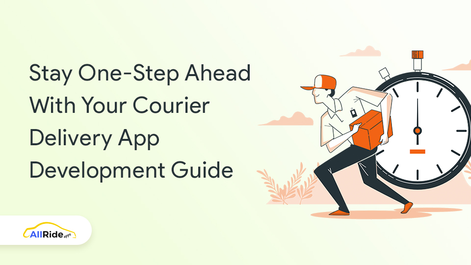 courier app development