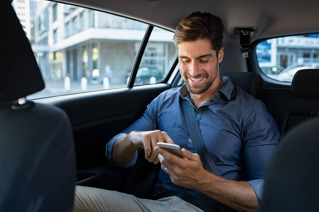 cashless cab payment
