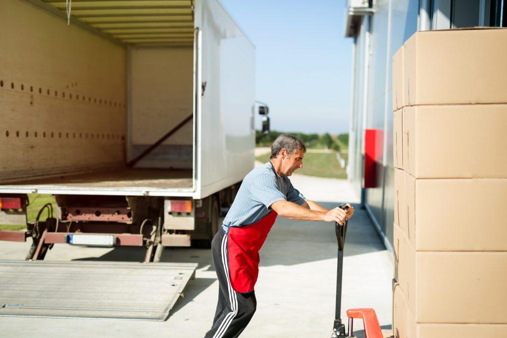 Logistics worker