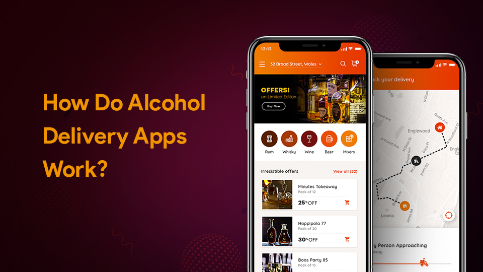 working of alcohol app