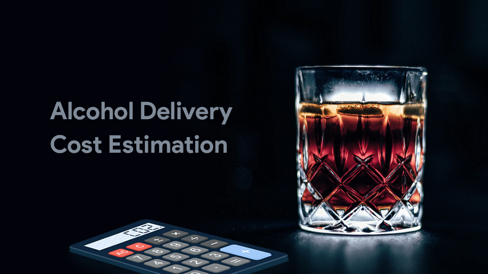 alcohol app cost estimation