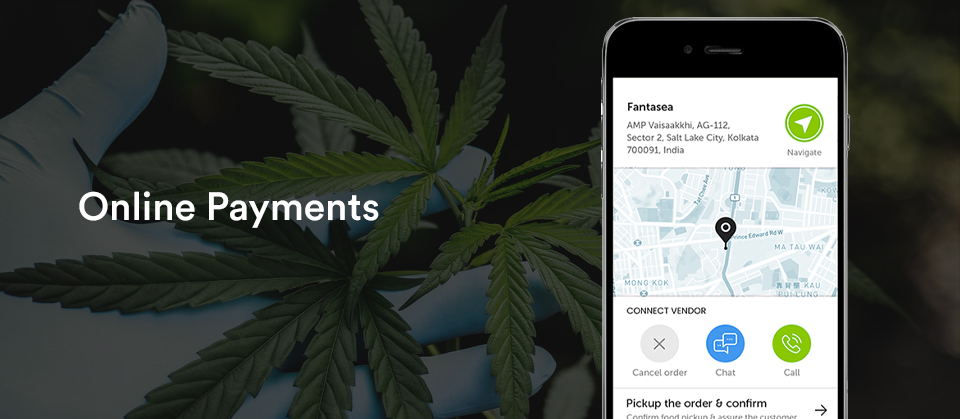 cannabis online payment