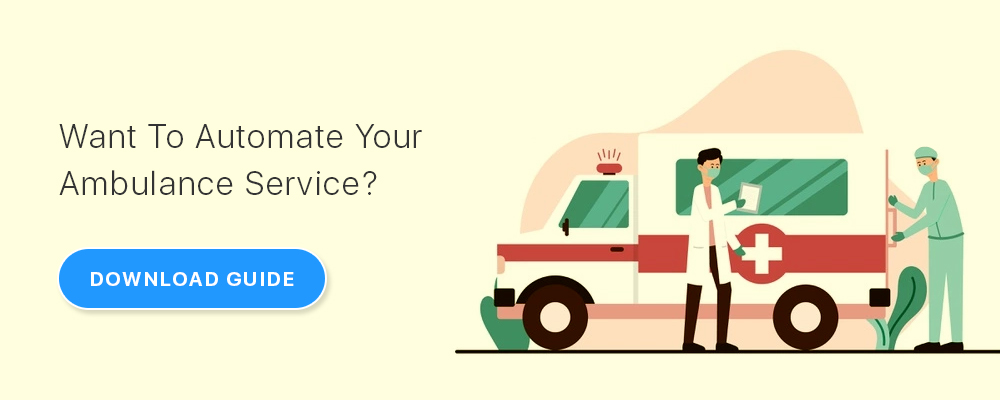 ambulance booking solution