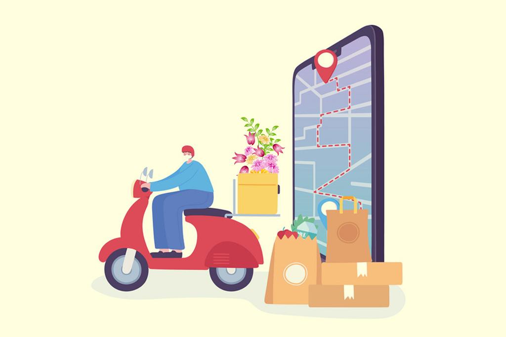 flower delivery app development features