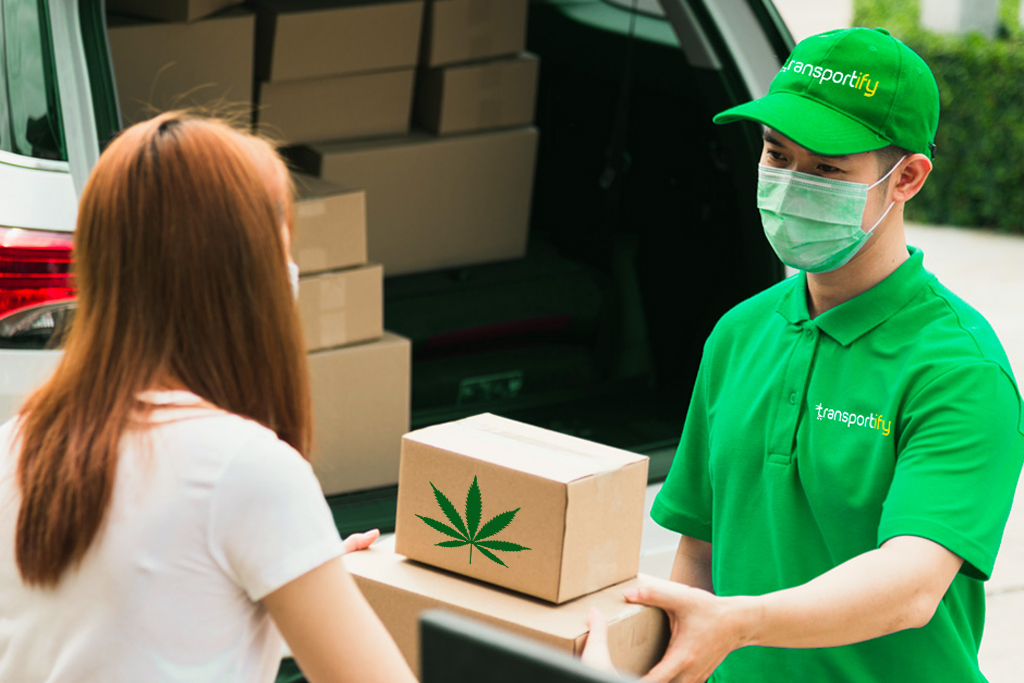 on demand cannabis delivery business