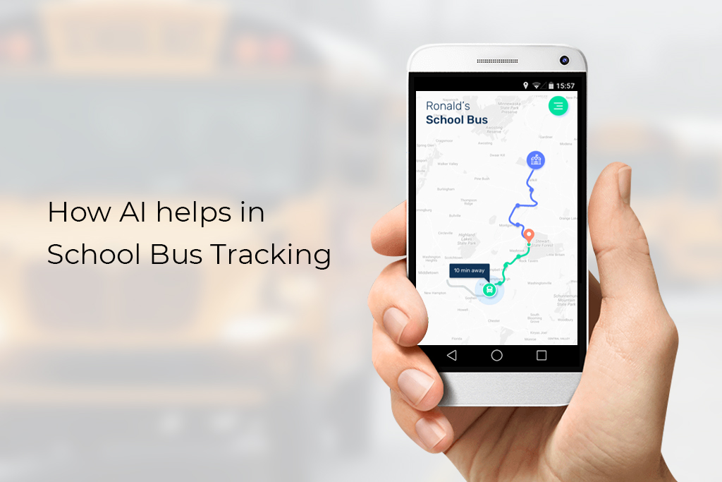 How AI helps in School Bus Tracking