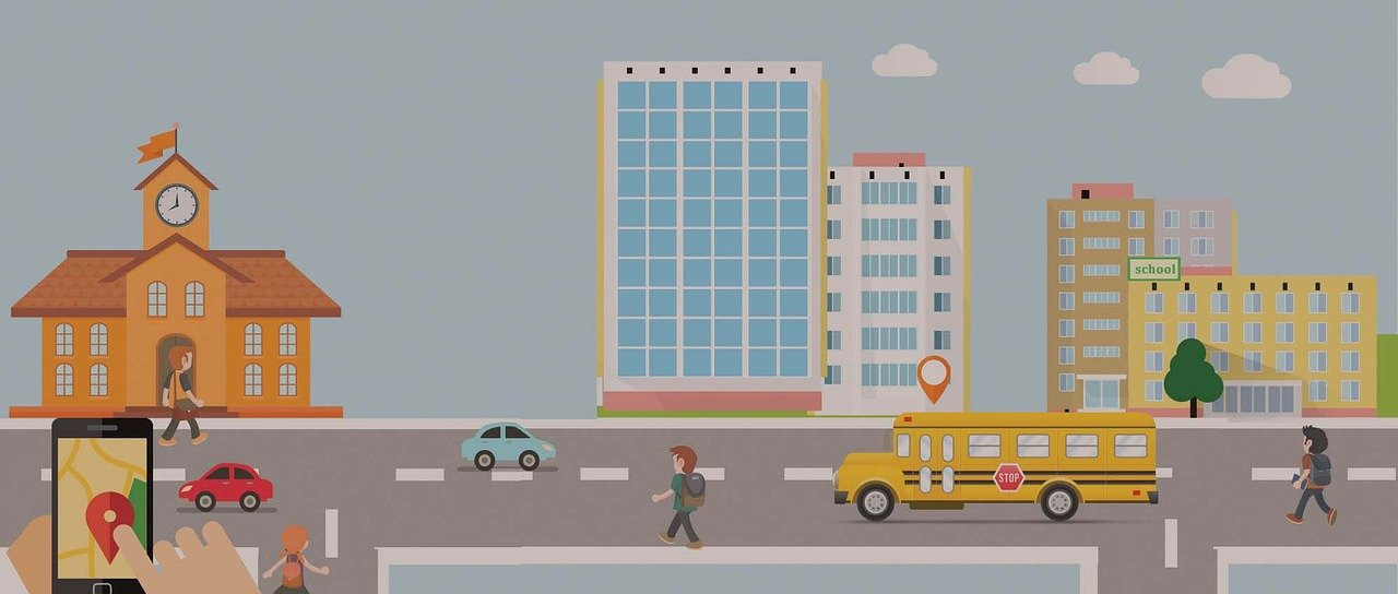 AI-driven school bus app