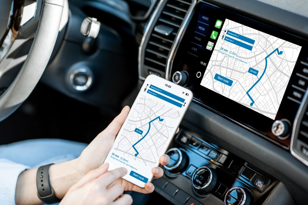 Management App for Vehicle Tracking