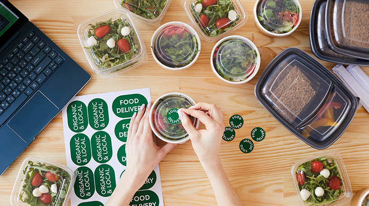 ondemand meal delivery startup
