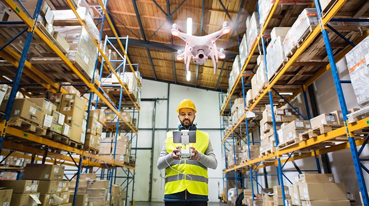 drone delivery development