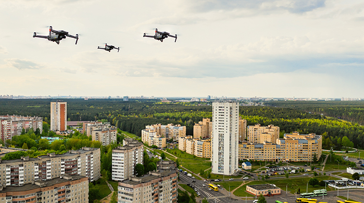 How to set up a drone delivery system?