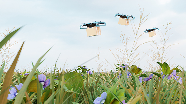 drone delivery apps