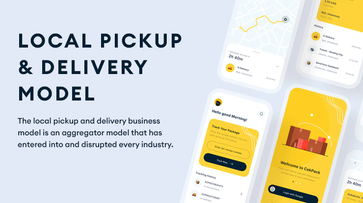 local pickup and delivery model