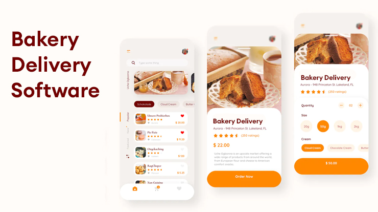bakery delivery software