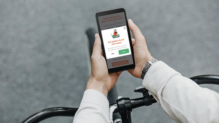 delivery app development