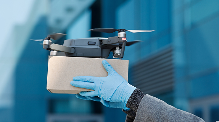Software Solution for Drone Delivery System
