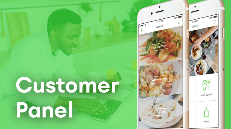 bakery delivery customer panel
