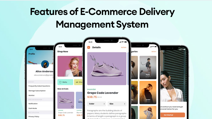 ecommerce delivery management software features