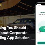 corporate carpooling app development