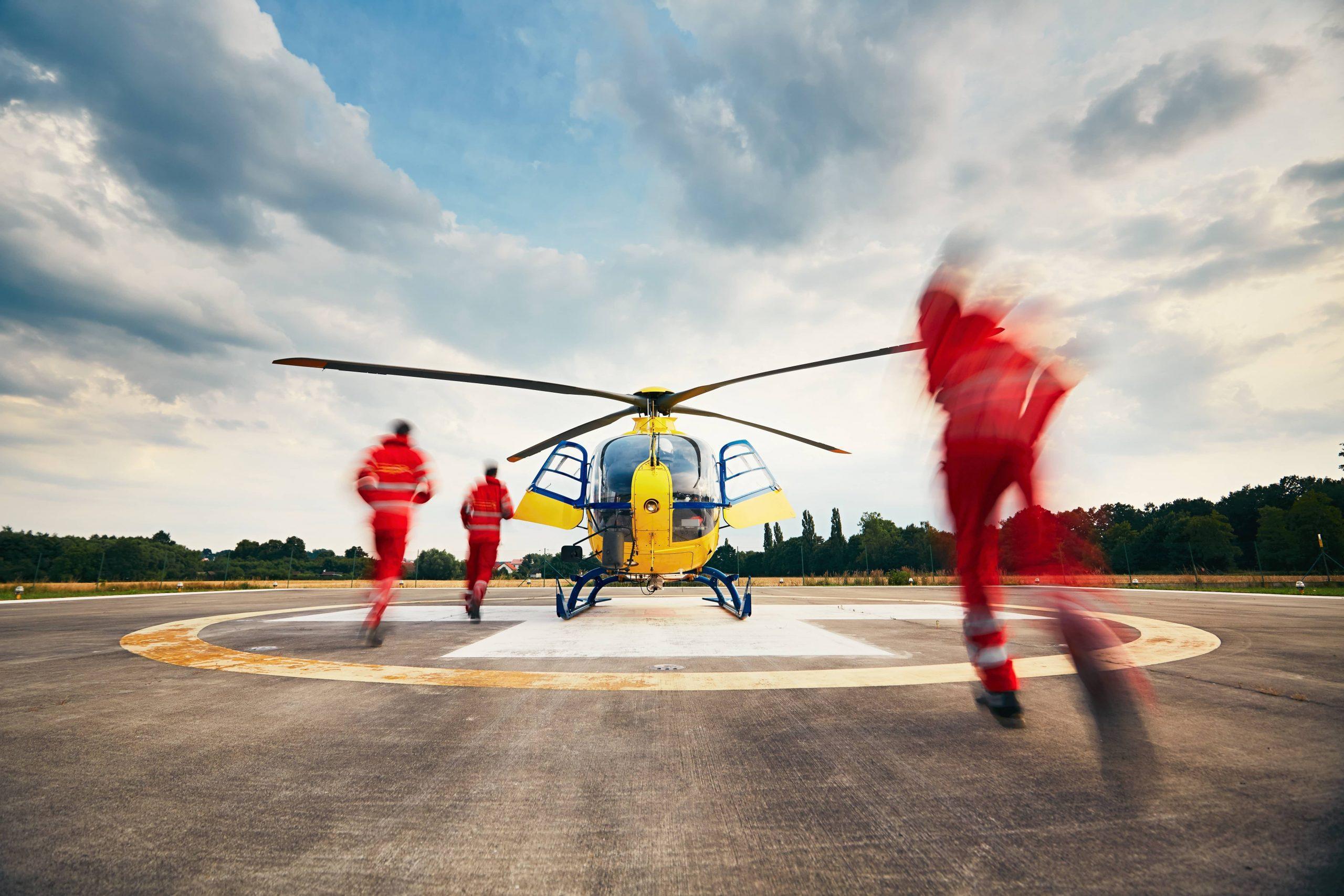air ambulance employee