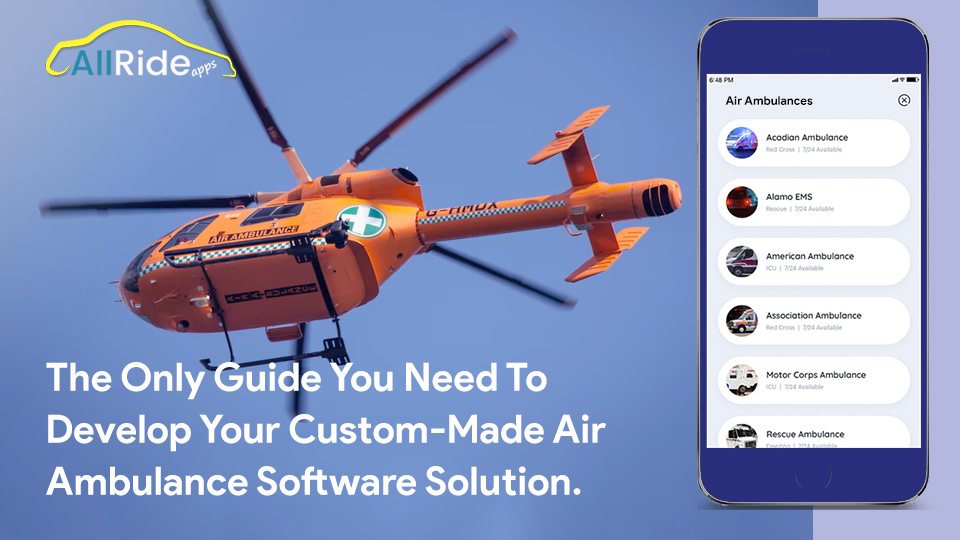 software solution for air ambulance